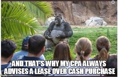 ted talk gorilla sales meme