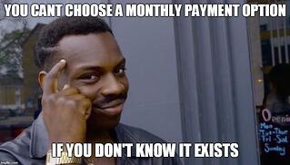 monthly payment thinking meme.jpg